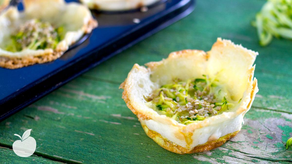 Tortini croccanti con zucchine