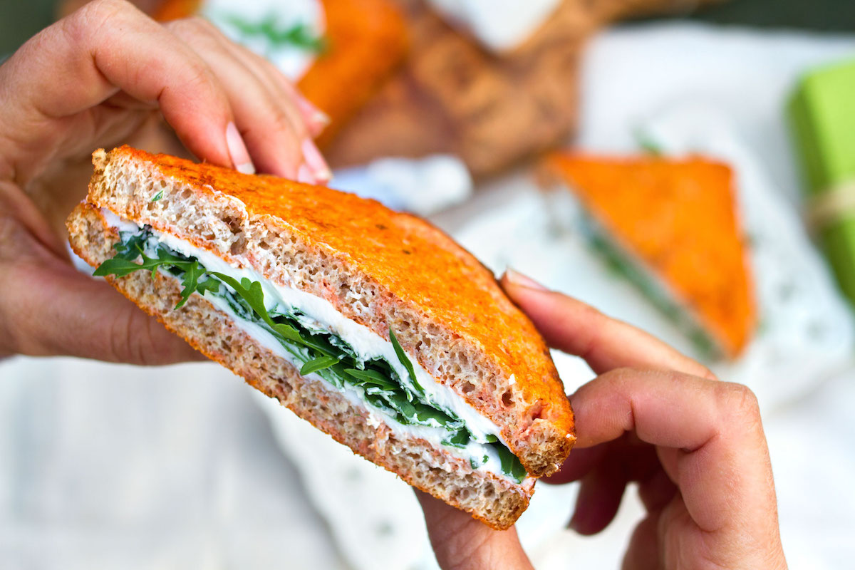 French toast al pomodoro