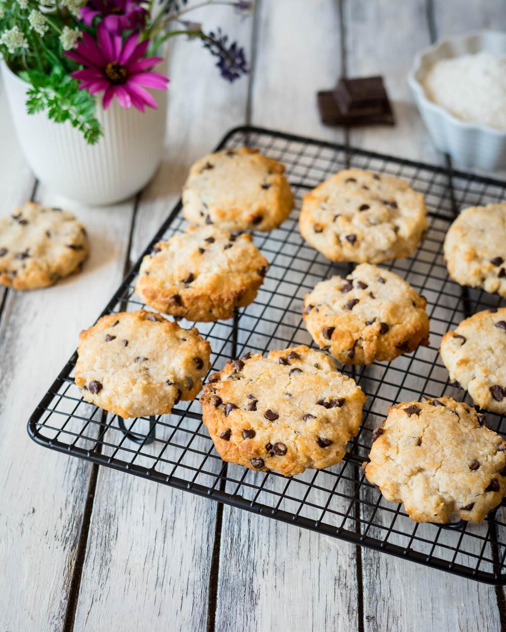 Cookies al cocco senza glutine