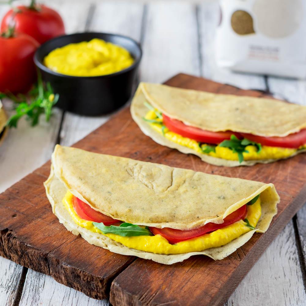 Crepes salate senza glutine